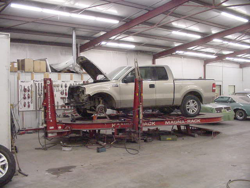 Frame Straightening | Wamego Collision Repair, Auto Frame ...